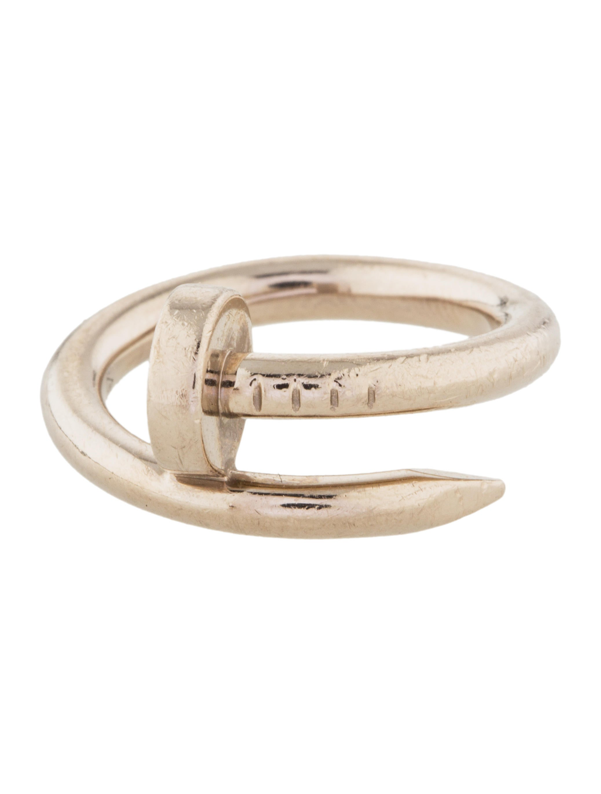 Cartier Juste Un Clou Ring - Rings - CRT32247 | The RealReal