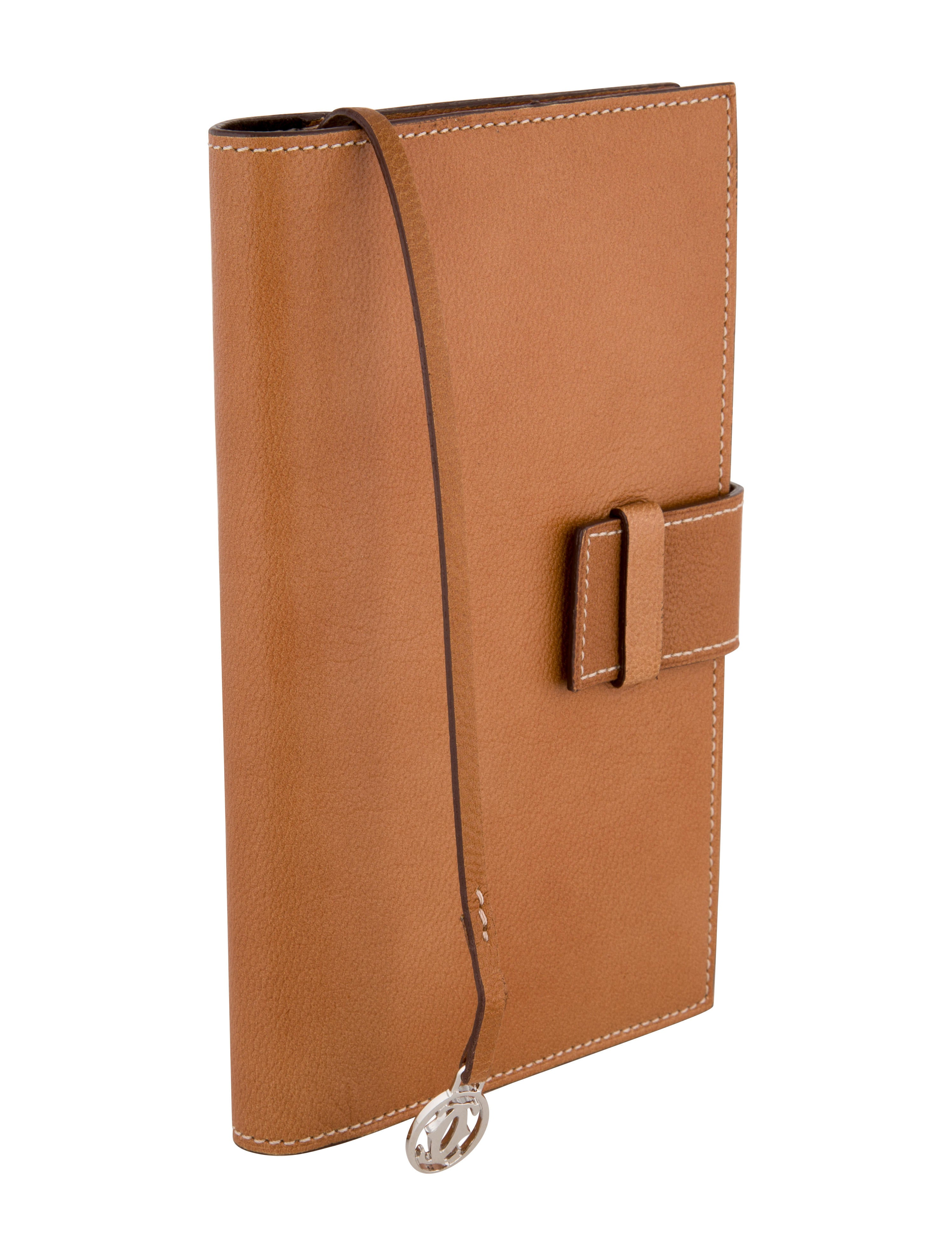 Cartier Leather Notebook Decor And Accessories