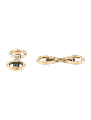 Cartier 18K Sapphire Cufflinks None