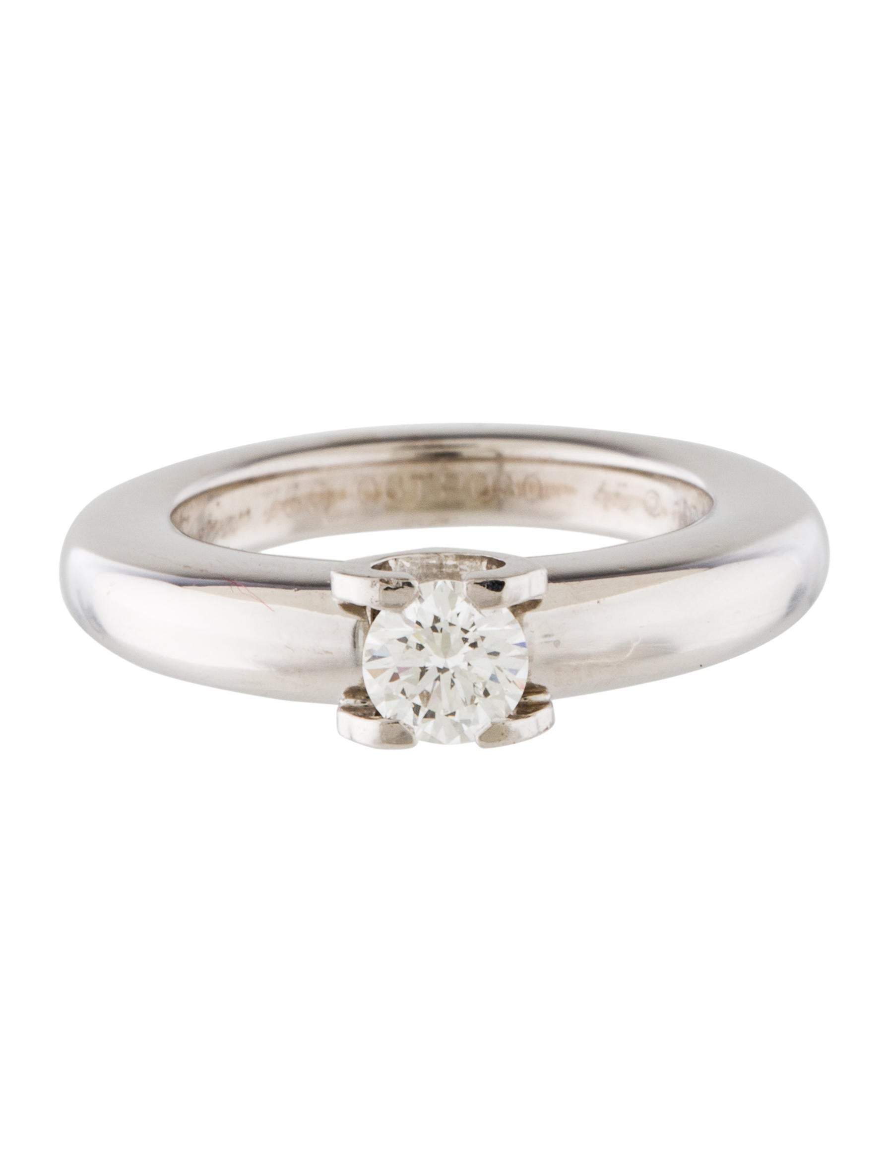 cartier c de cartier engagement ring rings crt32586