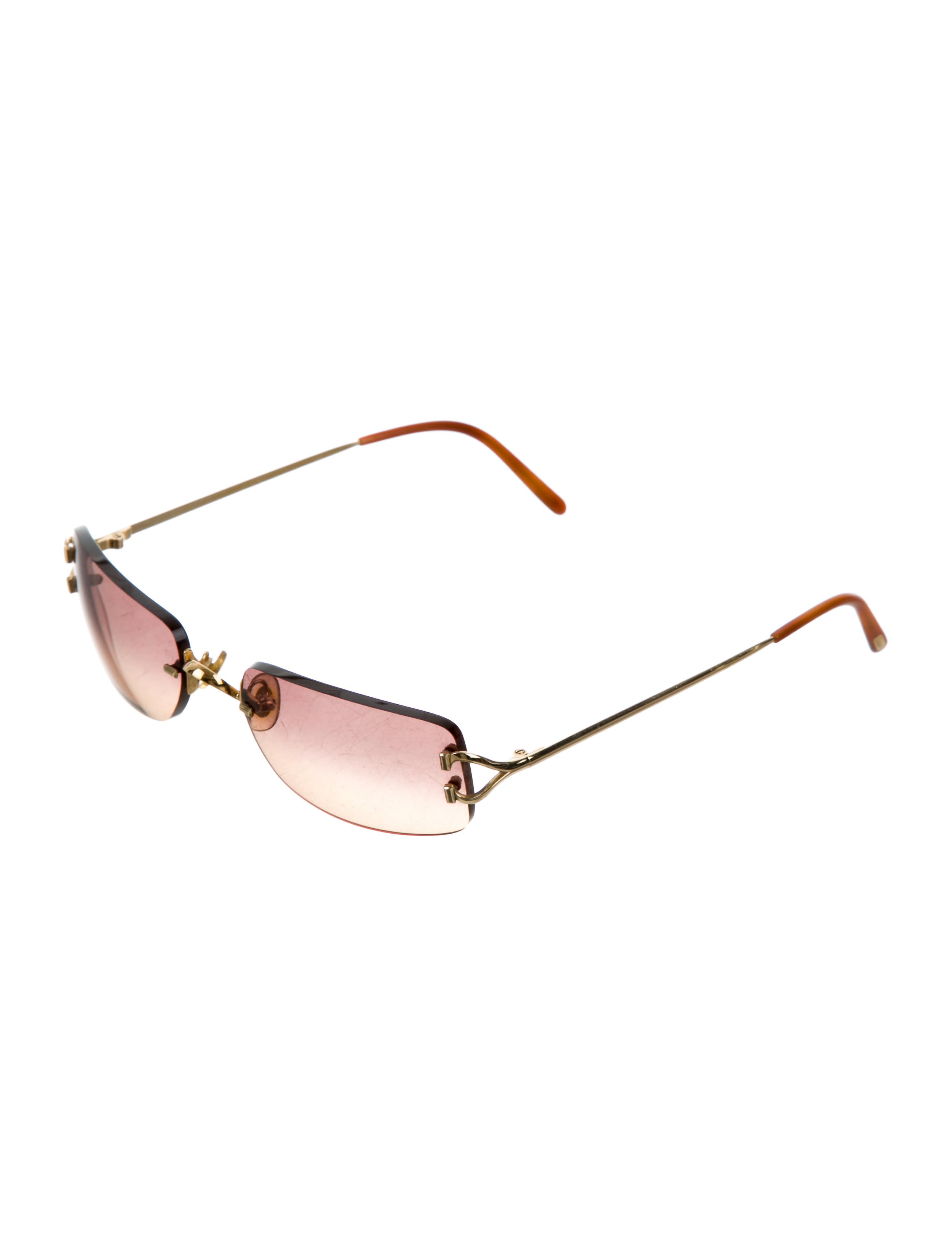 8352385d65a Cartier Rimless Sunglasses Coffee Gold « Heritage Malta