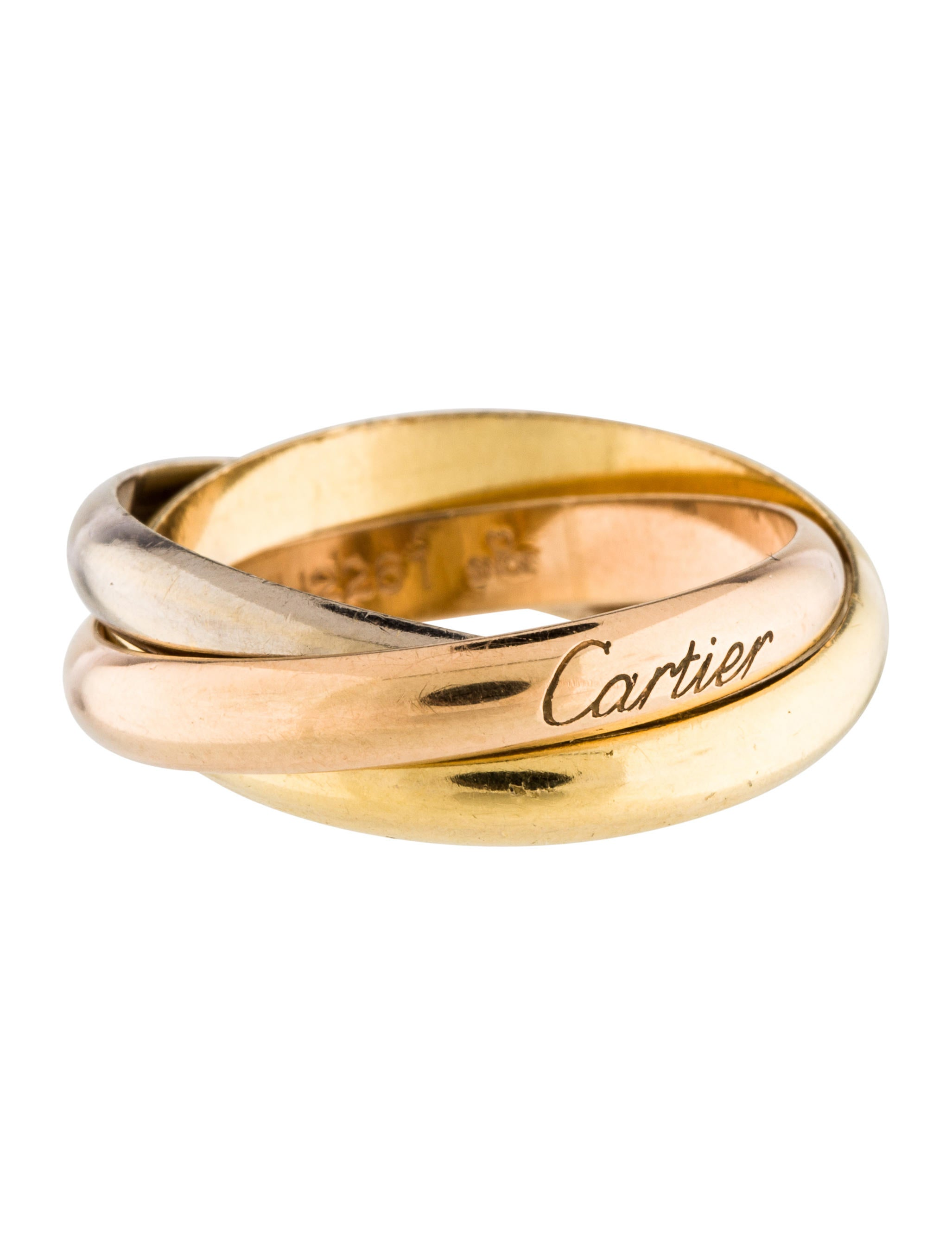 cartier trinity de cartier ring rings crt33330 the. Black Bedroom Furniture Sets. Home Design Ideas