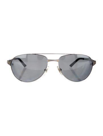 2d91e0e219 Cartier Aviator Santos-Dumont Sunglasses - Accessories - CRT33335
