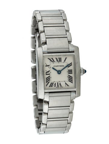 cartier tank franaise watch
