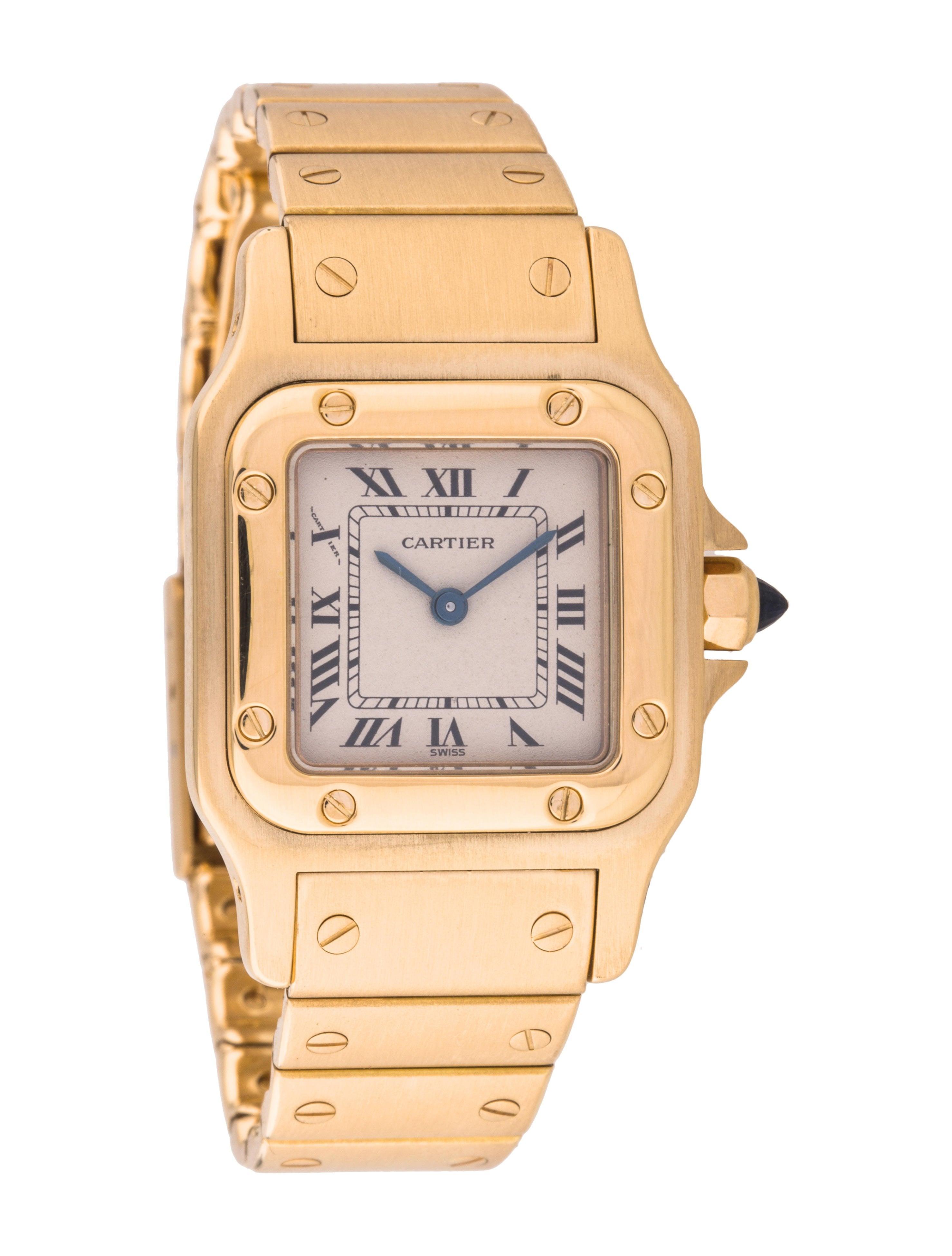 Cartier Santos Galbée Watch - Bracelet