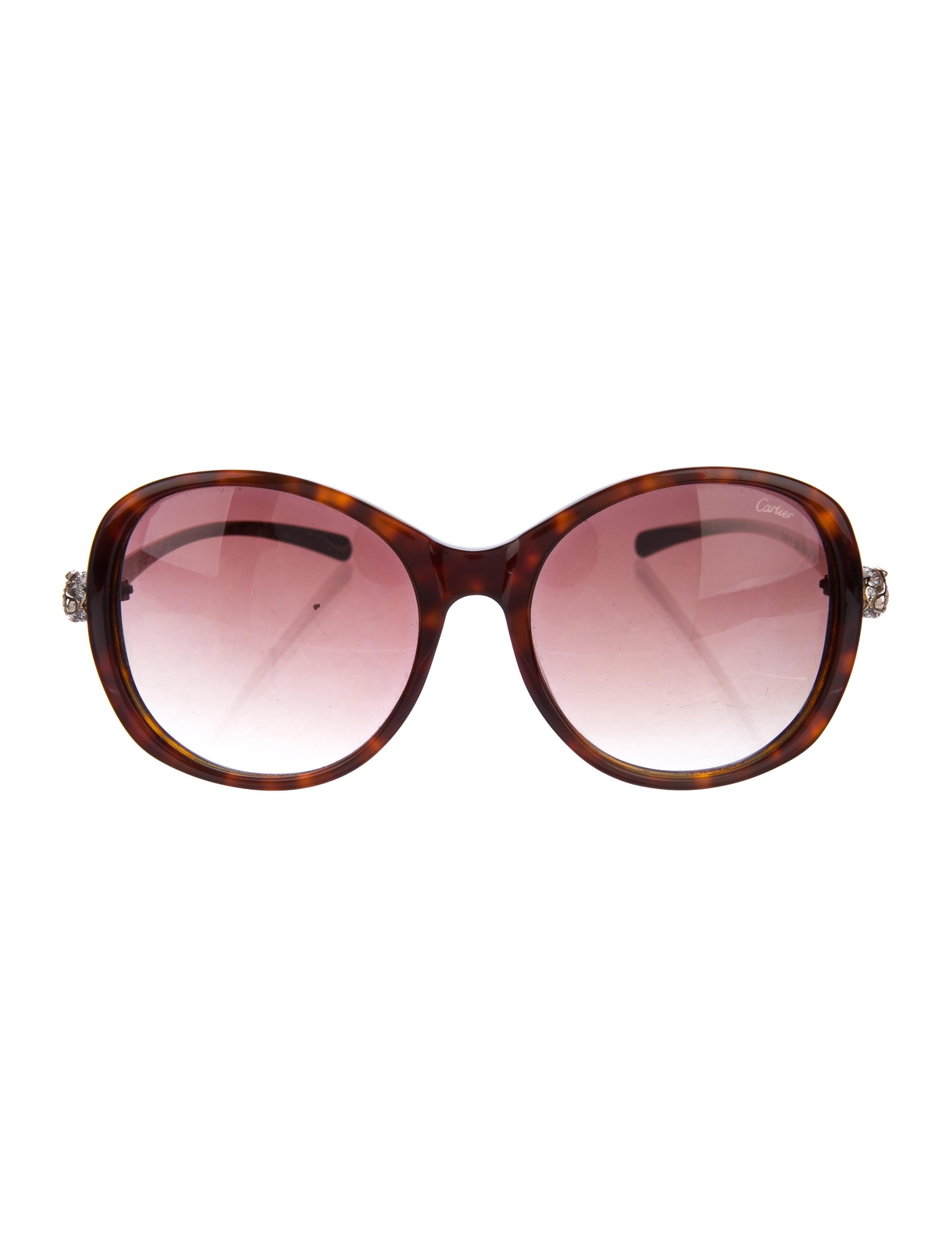 Cartier Panthère Gradient Sunglasses