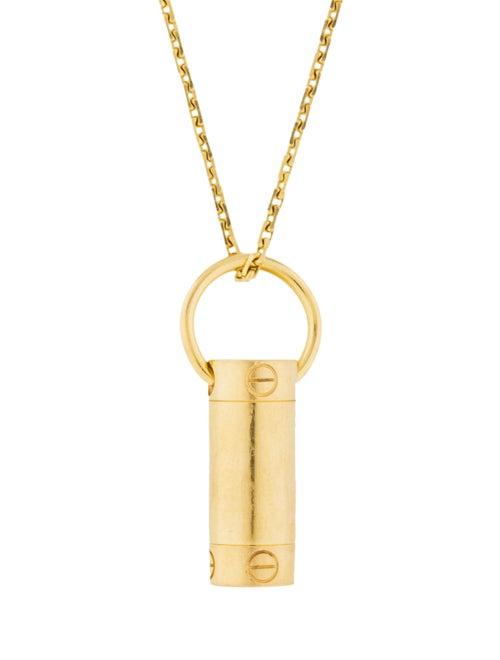 a8f0f79e8b058 Cartier LOVE Screwdriver Pendant Necklace - Necklaces - CRT34820 ...