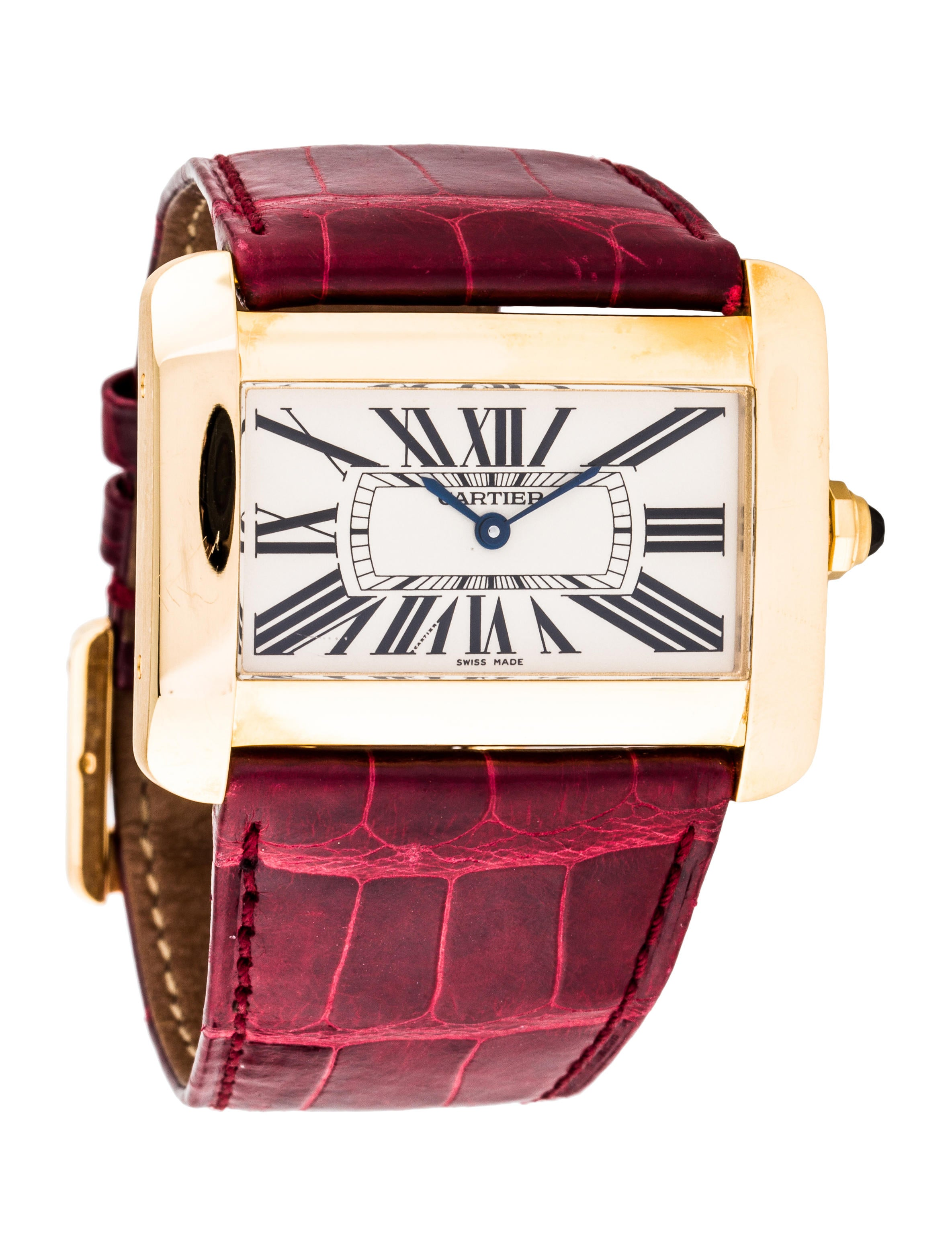 Cartier tank divan watch strap crt35447 the realreal for Cartier divan xl