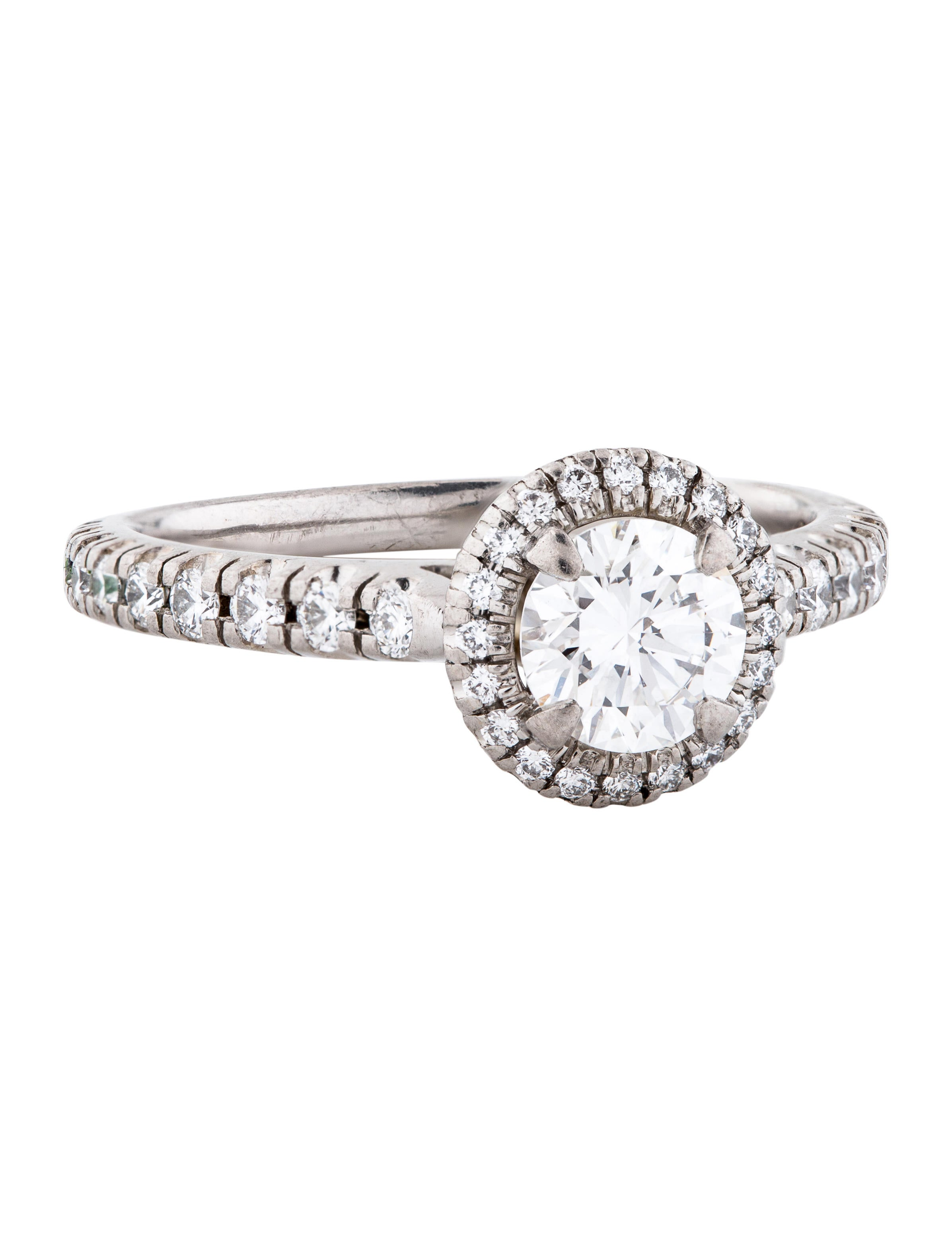 Cartier Destinee Solitaire Diamond Engagement Ring Rings