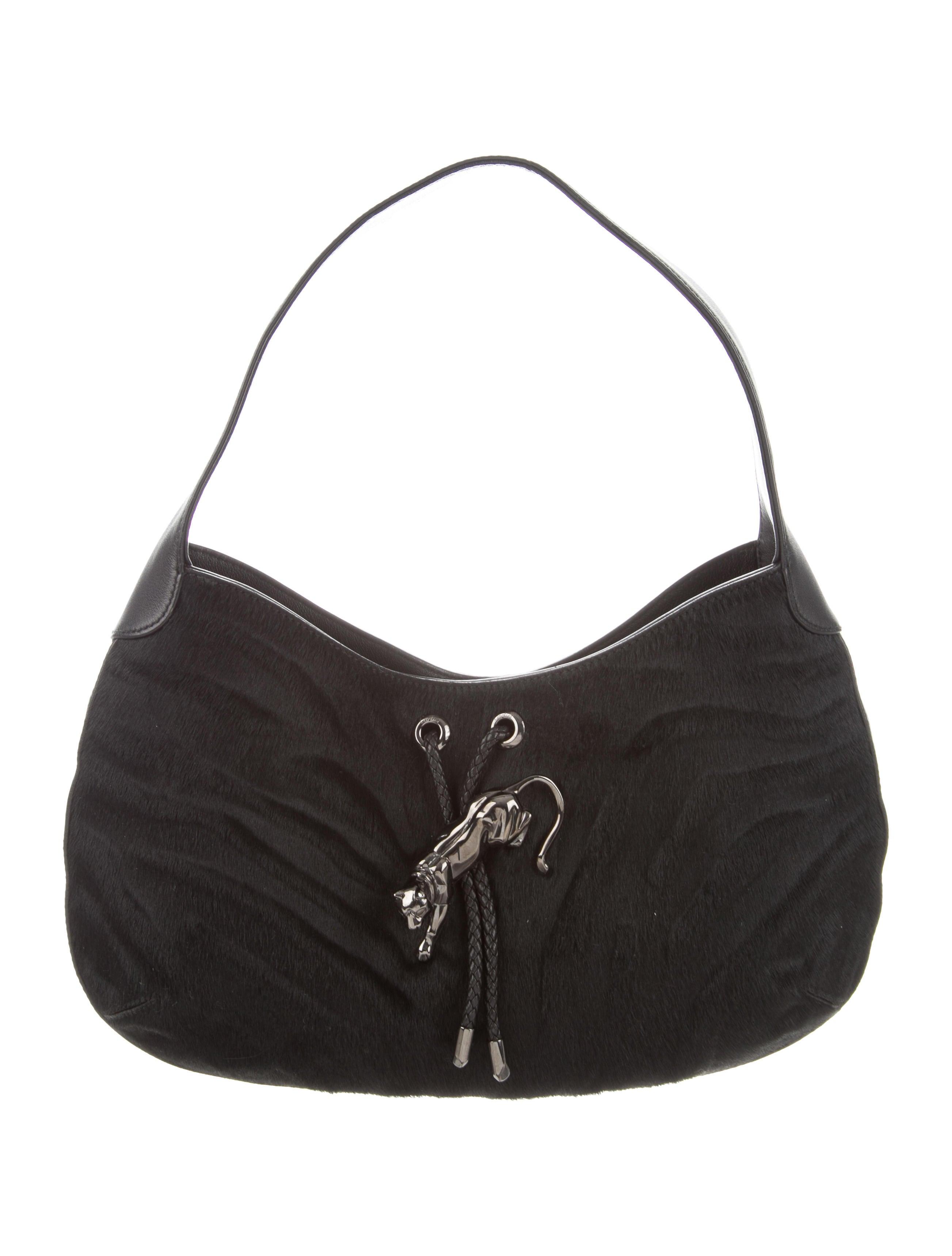 3309d1ada8 Cartier Ponyhair Panthère De Cartier Bag - Handbags - CRT43472
