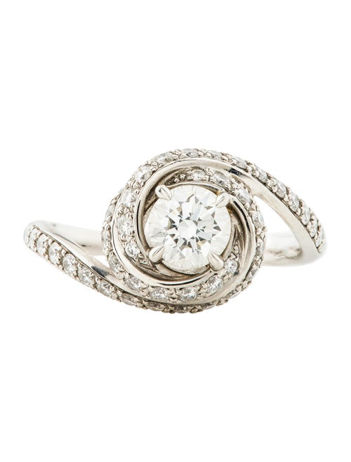 eed5e74eb0296 Cartier Trinity Ruban Solitaire Diamond Engagement Ring - Rings ...