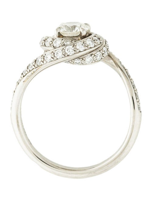 e1a3868922265 Cartier Trinity Ruban Solitaire Diamond Engagement Ring - Rings ...
