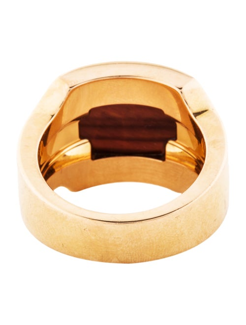 c002ff211887a Cartier Tigers Eye Santos Dumont Ring - Rings - CRT44536 | The RealReal
