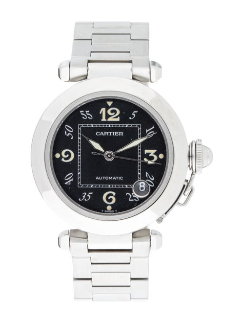 Cartier Pasha C de Cartier Watch Black