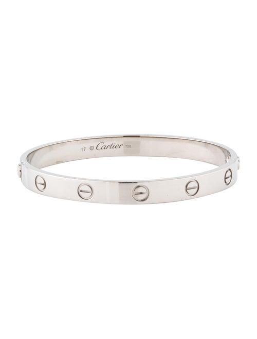Cartier Love Bracelet White