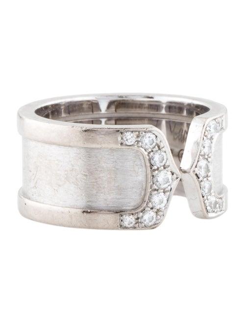Cartier Diamond Double C de Cartier Ring white