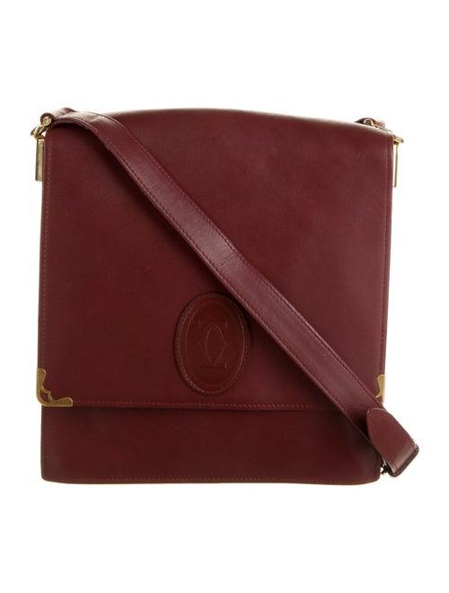 Cartier Vintage Must de Cartier Bag gold