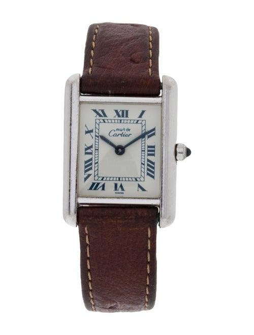 Cartier Must de Cartier Tank Watch silver