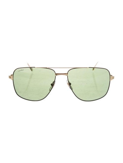 Cartier Santos de Cartier Sunglasses gold