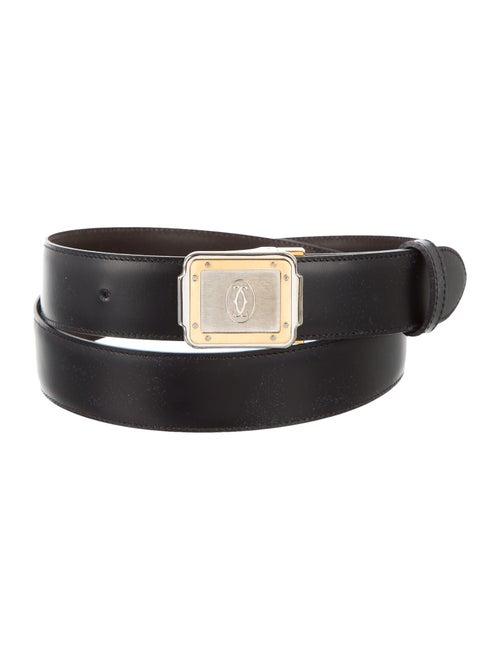 Cartier Reversible Leather Belt black