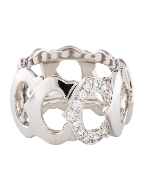 Cartier C De Cartier Ring White