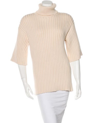 Creatures of the Wind Wool Turtleneck Sweater None