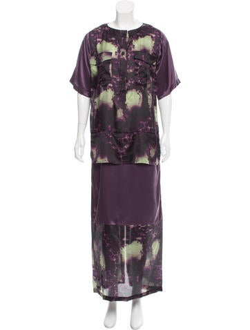 Creatures of the Wind Tie-Dye Printed Maxi Dress None