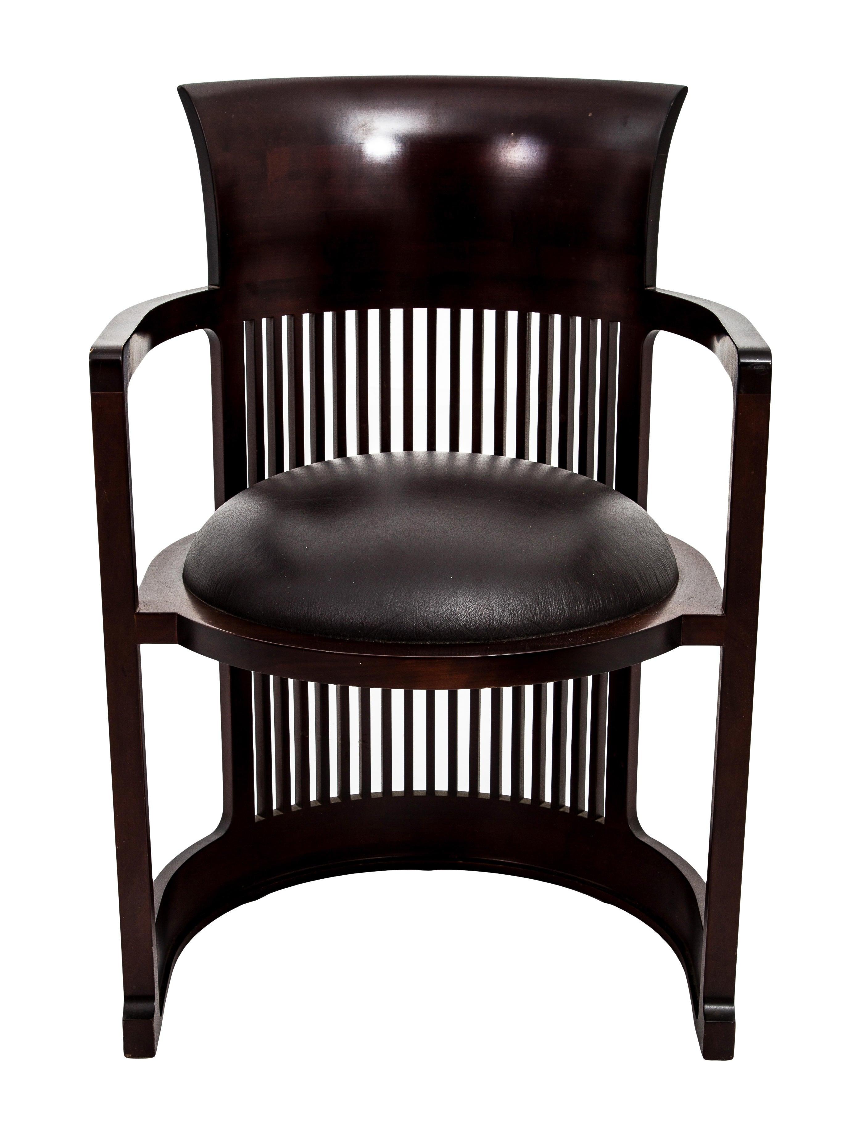 Cassina Frank Lloyd Wright Barrel Chair