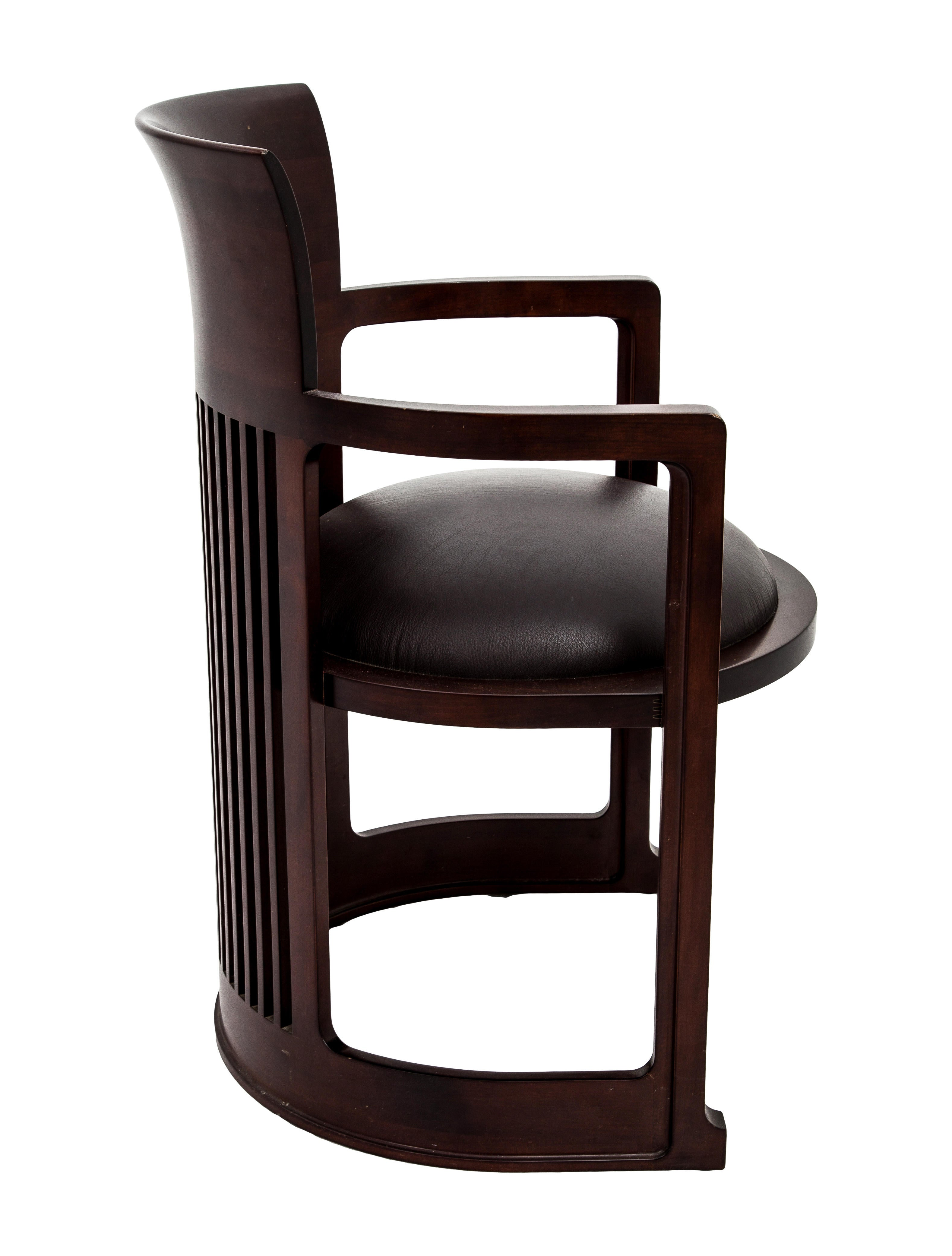 Cassina Frank Lloyd Wright Barrel Chair Furniture CSI