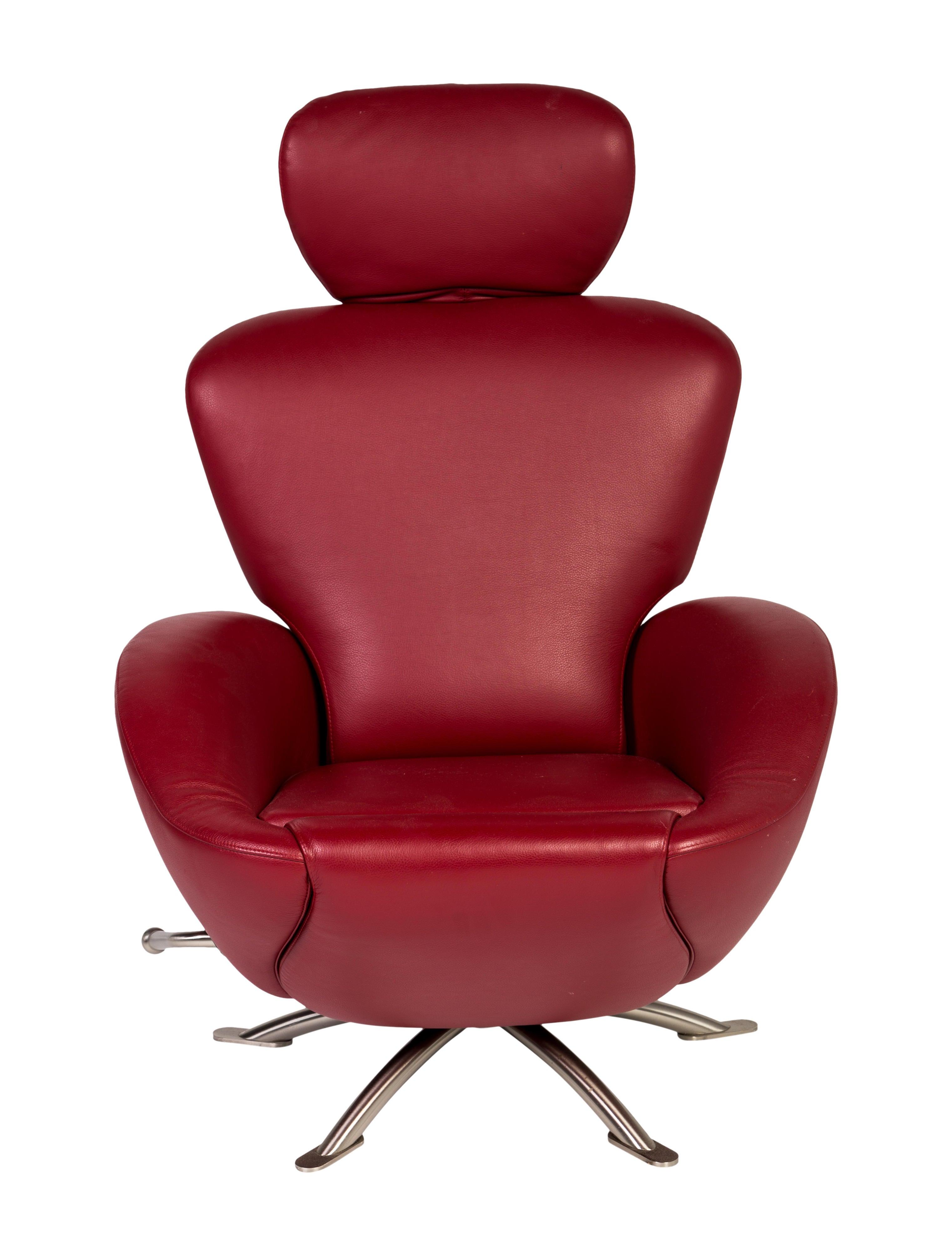cassina red k 10 dodo armchair furniture csi20050. Black Bedroom Furniture Sets. Home Design Ideas