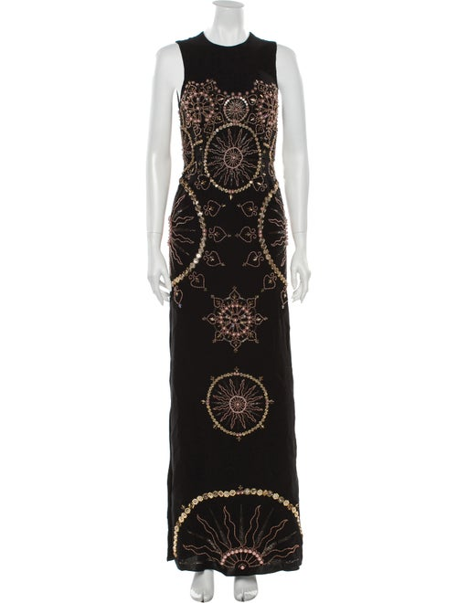 Cucculelli Shaheen 2019 Long Dress Black