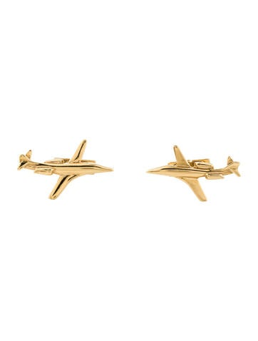 Cufflinks Airplane Cufflinks None