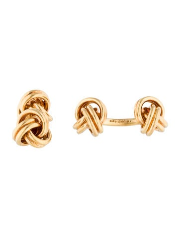 Cufflinks 18K Knot Cufflinks None