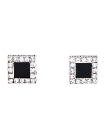 18K Onyx & Diamond