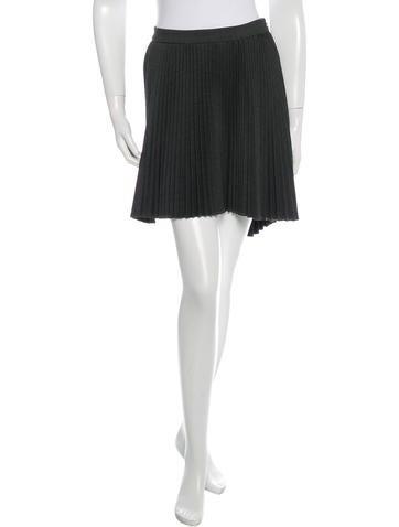 Cushnie et Ochs Asymmetrical Wool Skirt w/ Tags