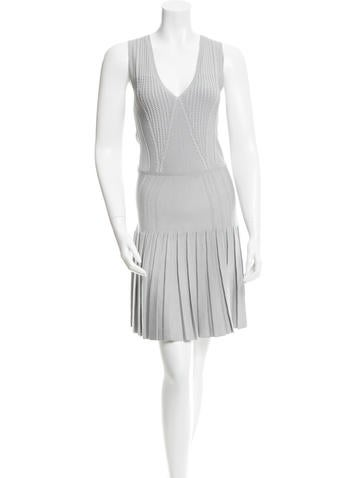 Cushnie et Ochs Textured Knit Dress