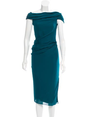 Cushnie et Ochs Georgette Silk Dress w/ Tags