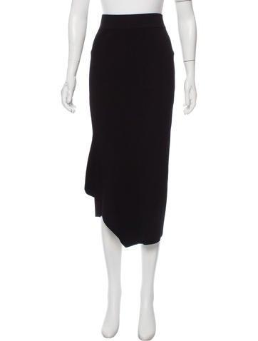 Cushnie et Ochs Asymmetrical Midi Skirt None