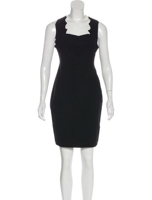 Cushnie Jersey Mini Dress Black