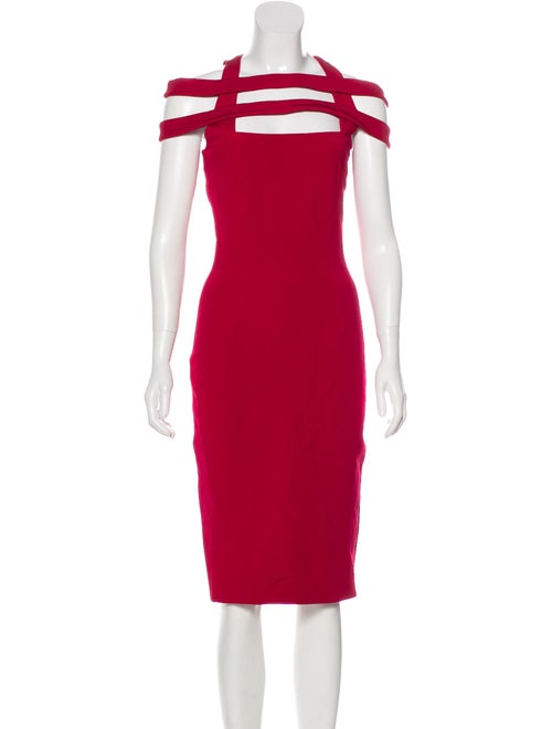 Cushnie Cutout Sheath Dress