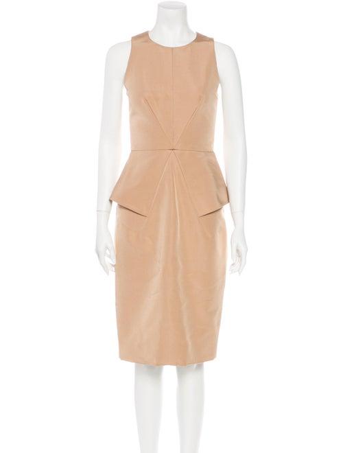 Cushnie Silk Midi Dress