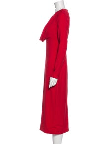 Cushnie Cowl Neck Long Dress