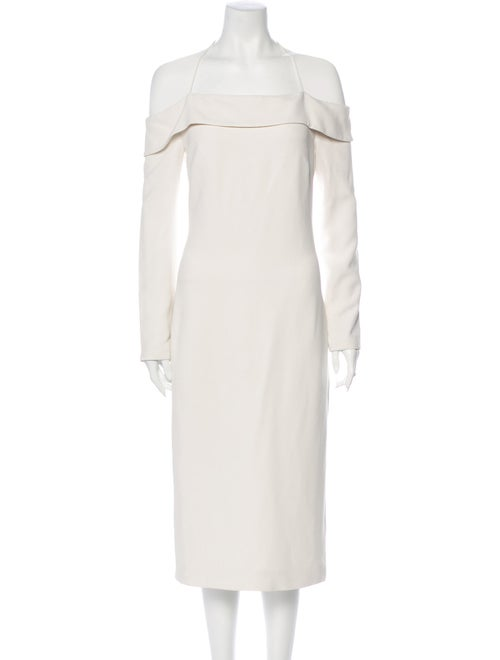 Cushnie Off-The-Shoulder Long Dress
