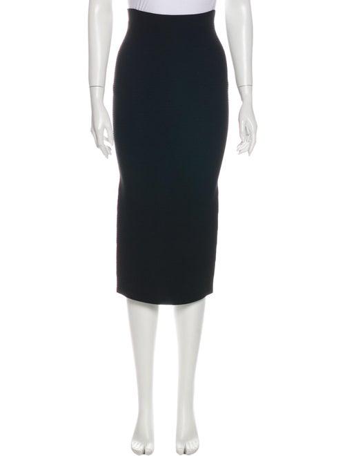 Cushnie Midi Length Skirt Black