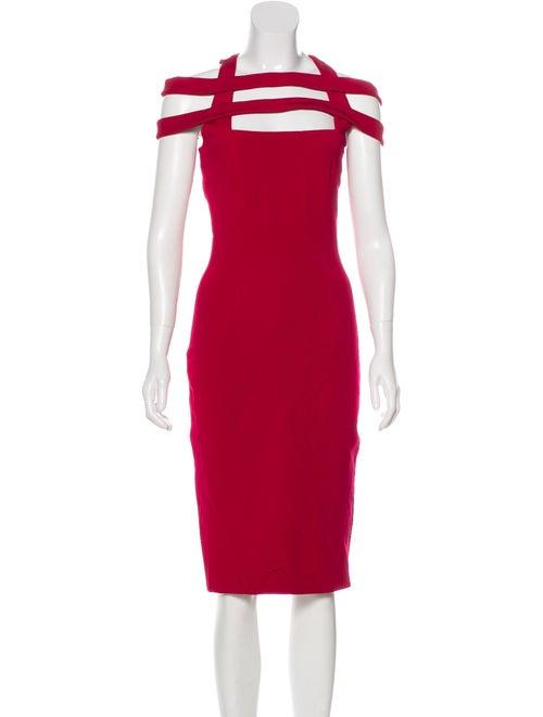 Cushnie Cutout Sheath Dress