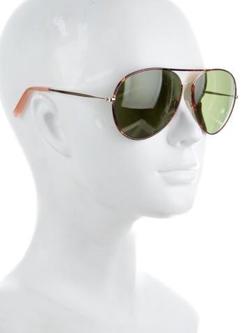 Tinted Aviator Sunglasses w/ Tags