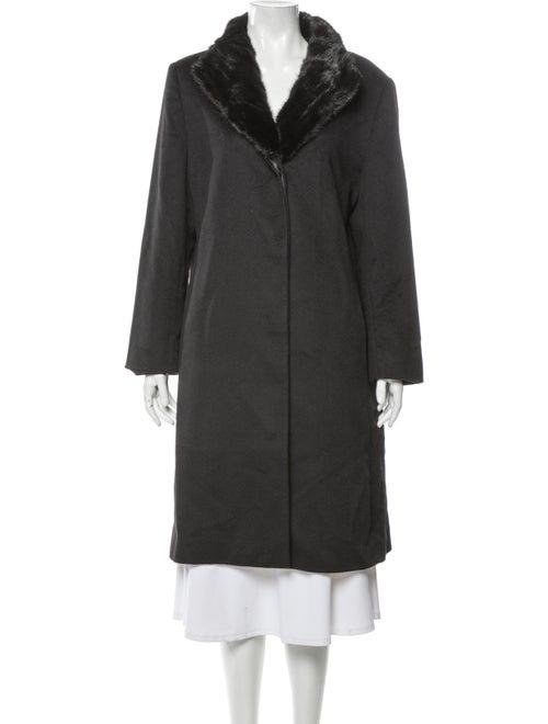 Cinzia Rocca Cashmere Coat Black