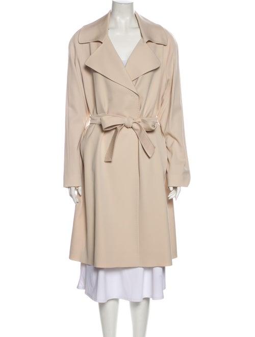 Cinzia Rocca Wool Trench Coat w/ Tags Wool