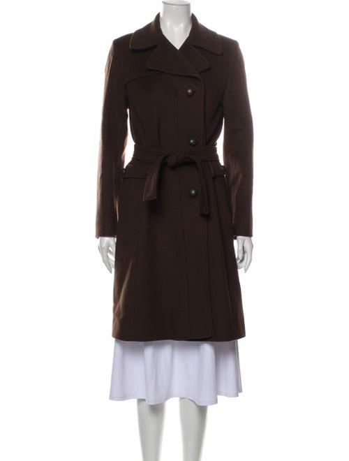 Cinzia Rocca Wool Trench Coat Wool