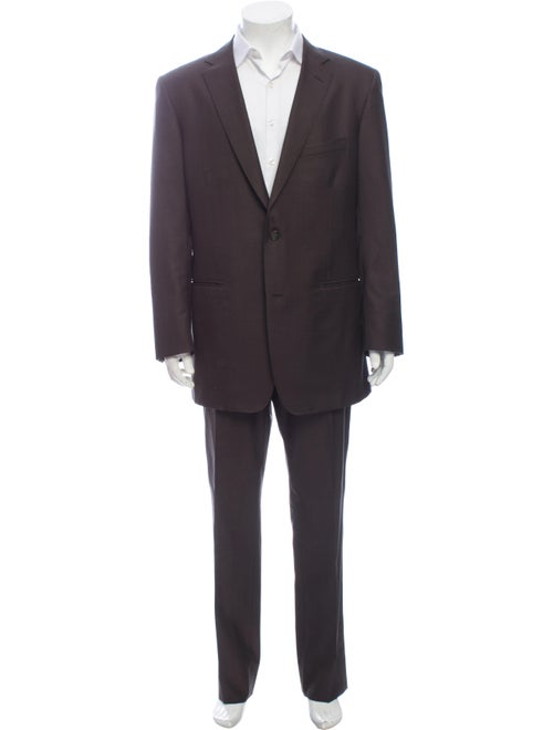 David August Two-Piece Suit Brown